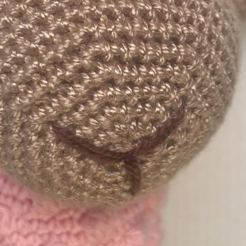 Oveja tejida a crochet